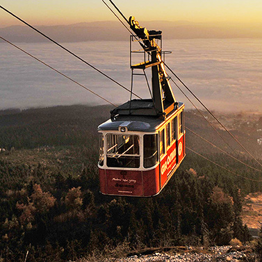 Liberec - Ještěd cabin cableway