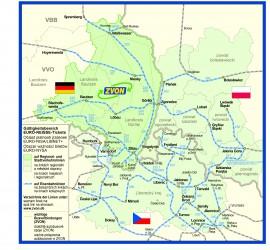 Územní platnost, Geltungsbereich, Obszar waznosci biletów, Validity
