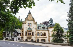 Liebiegův zámeček – rodinné sídlo Theodora Liebiega