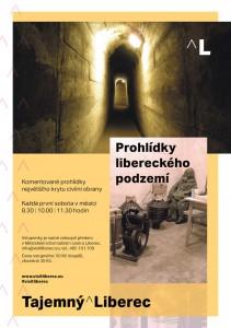 Prohlídky libereckého podzemí