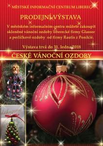 Prodejní výstava vánočních ozdob