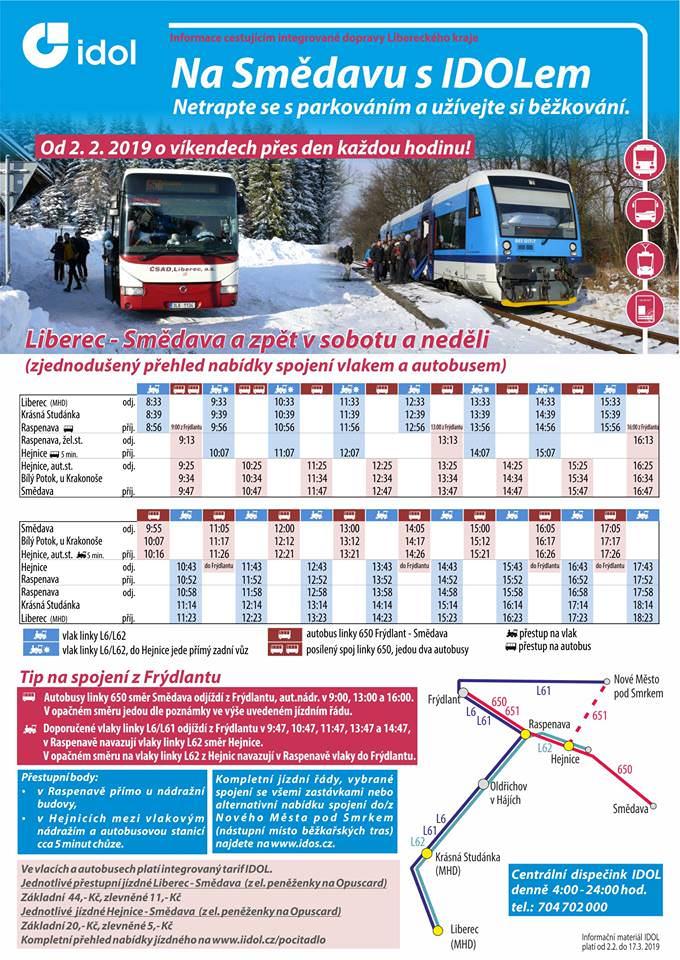 Bus Liberec - Smědava