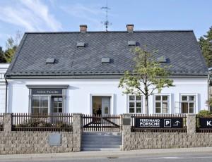 Rodný dům F. Porscheho po rekonstrukci v roce 2016