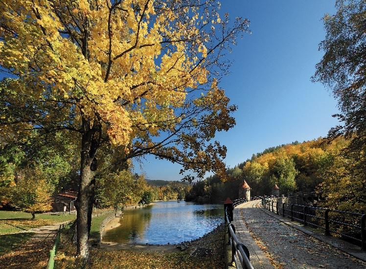 Podzimní nálada na přehradě