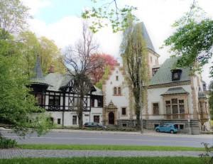 Liebiegova vila, archiv MIC