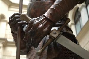 Detail radničního rytíře
