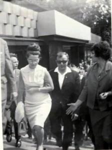 V roce 1966 navštívil LVT i Jurij Gagarin