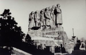 Stalinův pomník na pražské Letné, zdroj: Wikimedia Commons, Miroslav Vopata